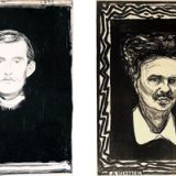 Edvard Munch and Johan August Strindberg